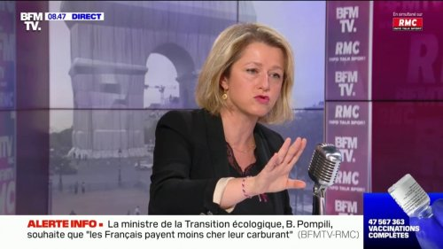 """Barbara Pompili sur l'affaire des sous-marins: """"La France n'a pas été traitée correctement par ses alliés"""""""