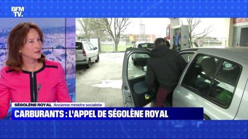 Carburants : l'appel de Ségolène Royal - 18/10