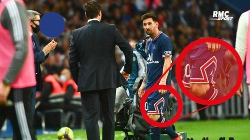 PSG 2-1 OL : Messi remplacé... à cause d'une béquille ?