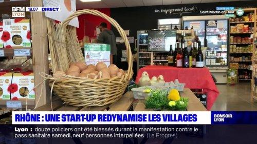 Rhône : cette start-up lyonnaise qui redynamise les villages sans commerces