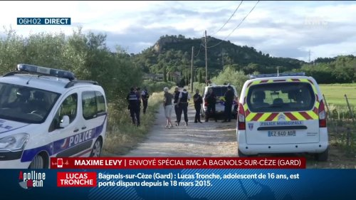 Disparition de Lucas Tronche en 2015: des ossements et des restes de vêtements retrouvés à moins d'1km de la maison de ses parents