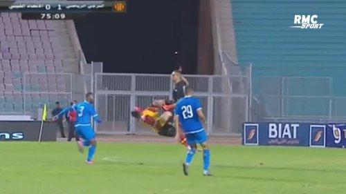 La sortie ultra-violente d'un gardien en Ligue des champions africaine