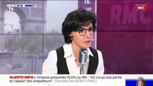 """Régionales en PACA: selon Rachida Dati, """"Monsieur Castex a essayé de piéger Renaud Muselier"""""""