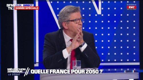 """Jean-Luc Mélenchon: """"En 2050, si on ne fait rien, la Camargue, le Marais poitevin, Dunkerque et Bordeaux seront sous l'eau"""""""