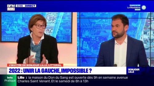 """Unir la gauche pour la présidentielle de 2022: pour Martine Filleul, sénatrice (PS) du Nord, """"aujourd'hui, nous n'en sommes pas là"""""""