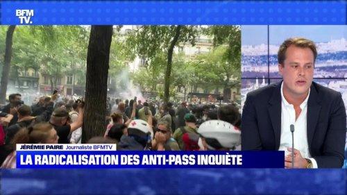 La radicalisation des anti-pass inquiète - 01/08