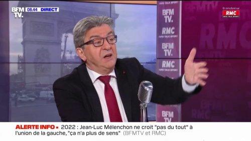 """""""Le reste a échoué"""": Jean-Luc Mélenchon favorable à la légalisation du cannabis"""