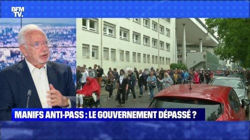 Manifs anti-pass : le gouvernement dépassé ? - 25/07