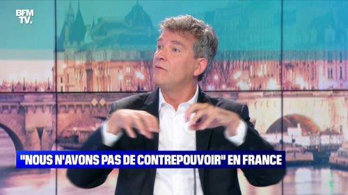 """Arnaud Montebourg: """"Nous n'avons pas de contrepouvoir dans le système politique actuel"""" - 13/06"""