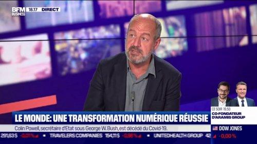 """L.Dreyfus (Le Monde) : """"aujourd'hui, on a dépassé les 400.000 abonnés purs numériques"""""""