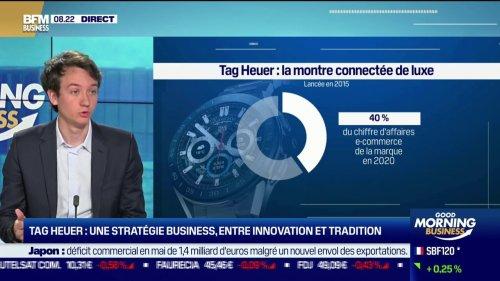 """Frédéric Arnault (TAG Heuer): """"Apple n'a pas le monopole des montres connectées"""""""
