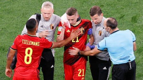 Euro: six fractures au visage et six heures d'opération pour le Belge Castagne