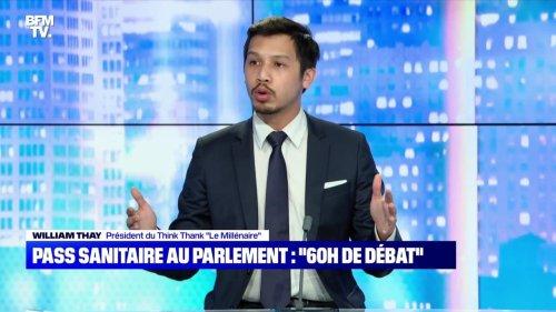 """Pass sanitaire au Parlement: """"60h de débat"""" - 25/07"""