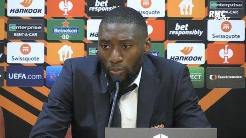"""Sparta Prague 3-4 OL : """"L'arbitre ne nous parlait pas correctement"""" regrette Toko-Ekambi"""