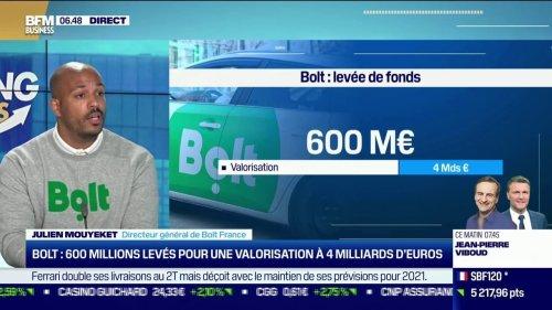French Tech, Bolt: 600 millions levés pour une valorisation à 4 milliards d'euros