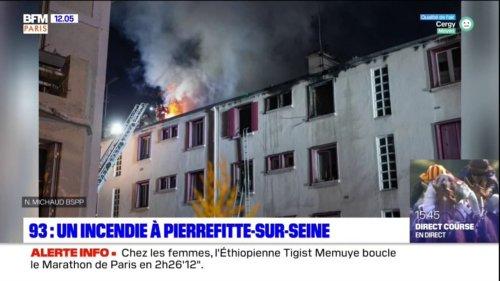 Pierrefitte-sur-Seine: un incendie fait cinq blessés
