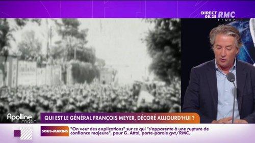 Qui est François Meyer, le général qui va être décoré pour avoir désobéi?