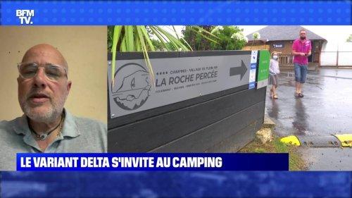 Le variant Delta s'invite au camping - 25/07
