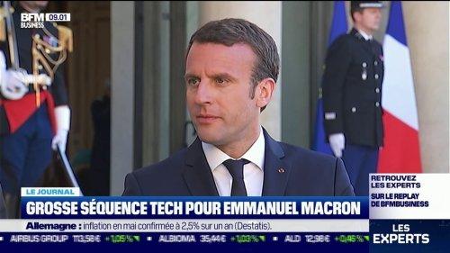 Emmanuel Macron reçoit ce mardi les 200 personnalités les plus influentes de la tech européenne
