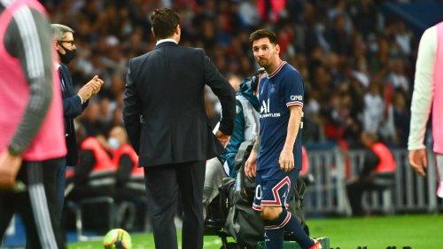 PSG en direct: Le PSG en dit plus sur la blessure de Messi