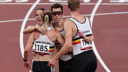 """JO 2021 (athlé): le Belge Borlée dénonce """"un scandale"""" sur le relais 4x400m mixte"""