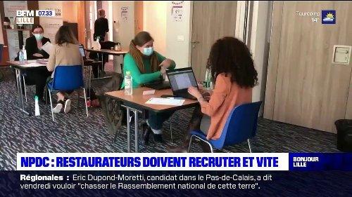 Nord-Pas-de-Calais: les restaurateurs à la recherche de serveurs et cuisiniers