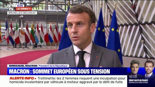 """Variant Delta: Emmanuel Macron affirme que """"nous devons tous être vigilants"""""""