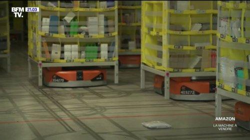 """Grâce à ces robots, Amazon est capable de """"stocker environ 40% de produits en plus"""""""