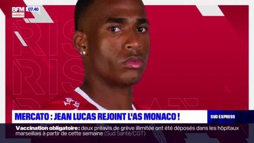 Mercato: Jean Lucas quitte l'OL pour rejoindre l'AS Monaco