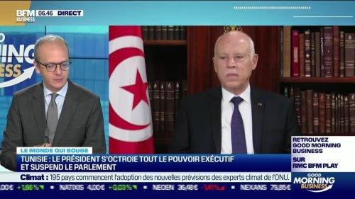 Benaouda Abdeddaïm : Le président tunisien s'octroie tout le pouvoir exécutif et suspend le parlement - 26/07