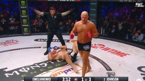 MMA, Bellator: l'énorme KO d'Emelianenko sur Johnson