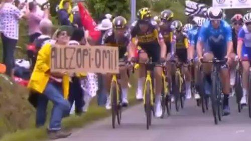 Tour de France: à l'audience, la spectatrice à la pancarte a raconté son calvaire