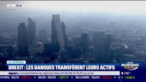 Brexit: les banques transfèrent leurs actifs
