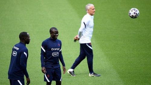 Equipe de France: le staff en réflexion pour Kanté, positif au Covid