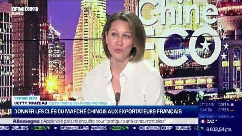Chine Éco : Donner les clés du marché chinois aux exportateurs français, par Erwan Morice - 21/06