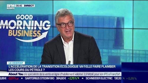 Le debrief : L'accélération de la transition écologique va-t-elle faire flmaber les cours du pétrole ? - 15/06