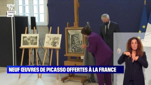 Neuf œuvres de Picasso offertes à la France - 21/09