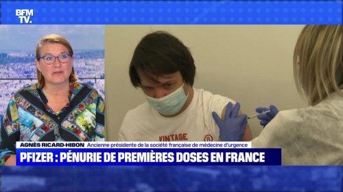 Pfizer : pénurie de premières doses en France - 24/07
