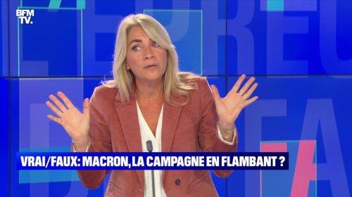 Macron, la campagne en flambant ? - 25/09