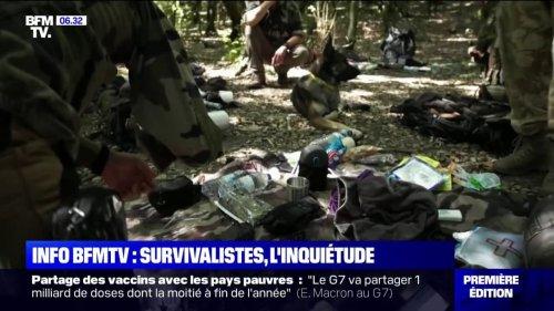 """Pour les services des renseignements, """"une partie des survivalistes tend à se radicaliser"""""""
