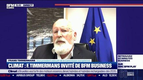 """Frans Timmermans: """"l'économie qui fera sa transition écologique en première sera la plus performante du monde"""""""