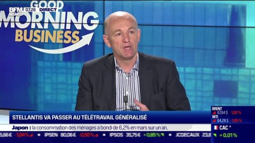 Bruno Bertin (Stellantis) : Stellantis va passer au télétravail généralisé - 11/05