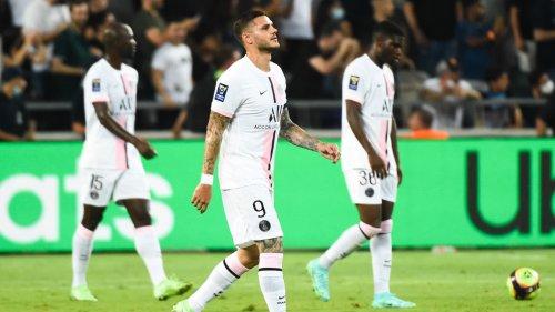 Trophée des champions Lille-PSG: le match inquiétant d'Icardi, transparent face au LOSC