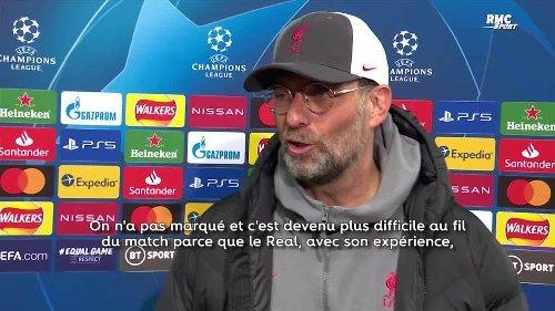 Liverpool - Real : Klopp frustré par le manque de réalisme des Reds