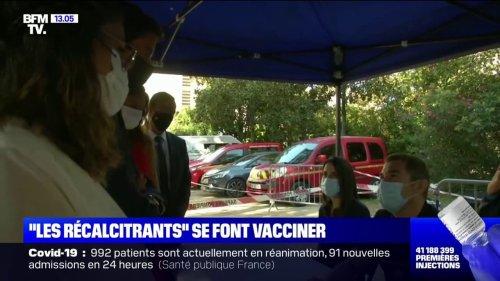 """Les """"récalcitrants"""" commencent à se faire vacciner selon Gabriel Attal"""