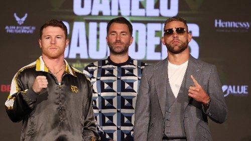 Boxe: Canelo-Saunders, les chiffres fous d'une soirée qui fait revivre le monde d'avant