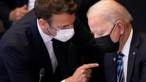 """Crise des sous-marins: les Etats-Unis """"espèrent"""" pouvoir évoquer son différend avec la France à l'ONU"""
