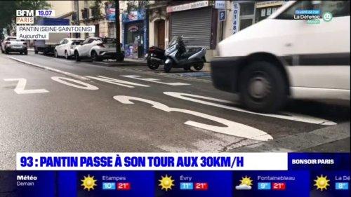 Seine-Saint-Denis: Pantin passe à son tour aux 30km/h