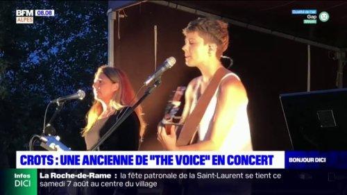 """Crots: une ancienne candidate de """"The Voice"""" en concert à la fête de la plage"""