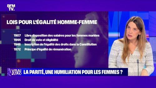 La parité, une humiliation pour les femmes? - 23/10
